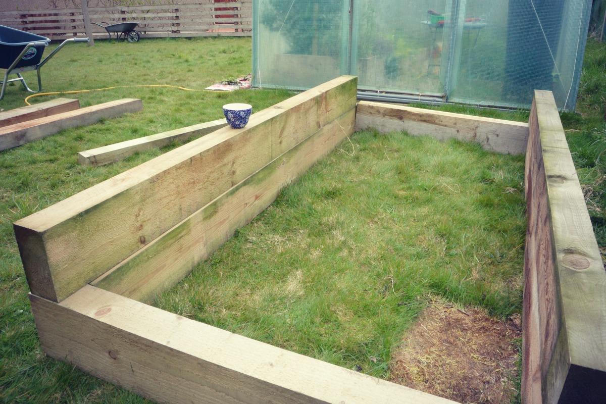 Building A Raised Bed My Shetland Garden